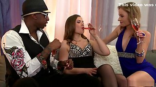 Exotic pornstars Johane Johansson and Dillian Lee in horny facial, anal xxx scene