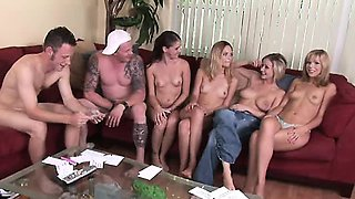 Really funny Truth or Dare game with a group of 8 young