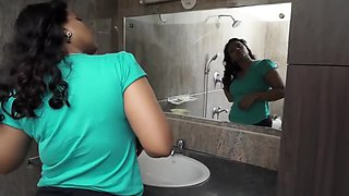 Horny Bhabhi In Bathroom