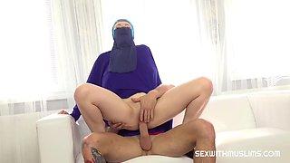 A dream come true sex with Muslim girl