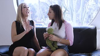 Wonderful face sitting and steamy ass eating with Brandi Love