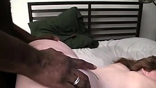 Submissive brunette gets spanked and drilled by a black stud