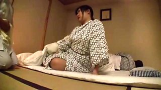 Erotic Massage Next To The Husband You Are Sleeping Voyeur Hotel Masseur