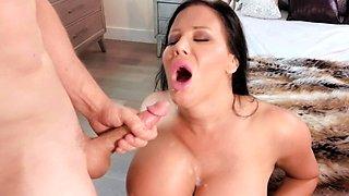 Massive Fake Titties On A Fuckable Milf Slut