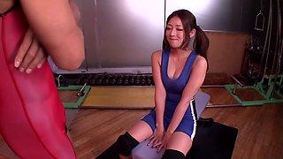 Minori Hatsune in Busty Wrestling Captain part 1.2