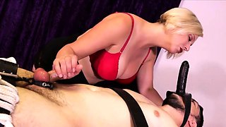 Sexy masseuse Breanna loves dominating men and when a