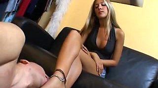 Blond Dominatrix