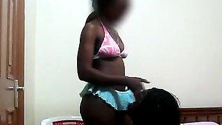 Hot big ass black African lesbians taste their twats. These