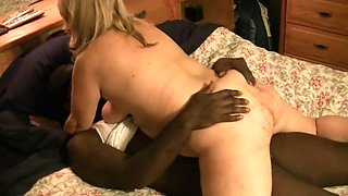 Chubby ass wife rides bbc to orgasm