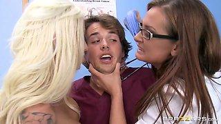 CFNM: Peeping Nurse Learns a Lesson. Rikki Six, Tory Lane, Tyler Nixon