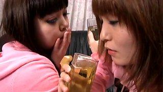 Piss Drinking Lesbian Love Drama
