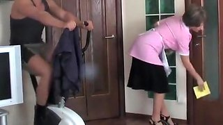Fit guy maid