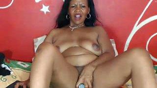 BLACK MOM WEBCAM