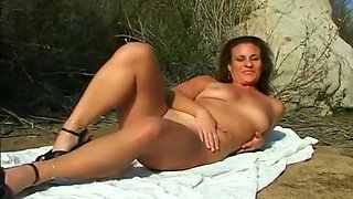 Hot Chick Gets Boned At A Nudist Ranch