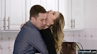 Glamour Jillian Janson asshole rammed by hard man meat