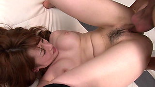 This dirty whore gets her tight pussy full of warm semen
