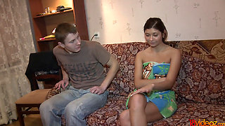 18 Videoz - Chinita - Money and sex from the ex