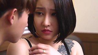 Bosomy Mom(2020) - Korean Hot Movie Sex Scene 2