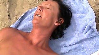 Lutje At The Beach 2 mature mature porn granny old cumshots cumshot