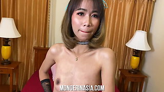 Skinny Thailand Hooker Creampied and Corked
