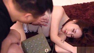 Chinese av drunk female neighbor