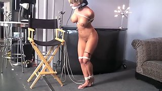 Chairtied nude