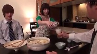 Man force Japanese wife in kitchen when his Husband just go FULL HERE : tiny.cc/o2eaaz