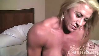 Li\'l Doll Fingers Her Big Clit