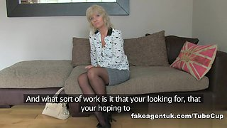 Mature MILF is hungry for pornstars cocks