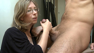 Mommy's cock sucking lesson