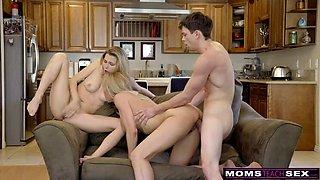 Randy Aunt Brandi Love preys on HornDog Teens!