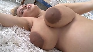 PREGNANT - BLONDE WHIT BIG BOOBS