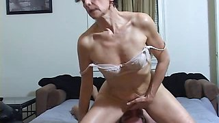Horny MILF facesits a slave for ass licking and cleaning