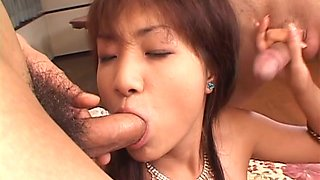Itsuka doesn´t want to, but still is fucked hard by two