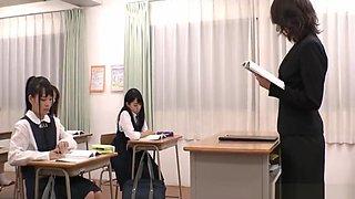 Classroom Bukkake Lesson