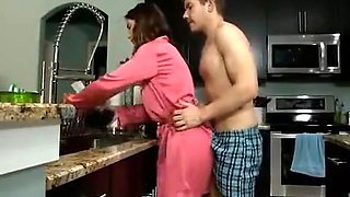 Brother need more in breakfast forced sister for creampie