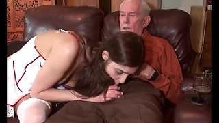 Beauty nurse intern releases the pressure of her old patient!