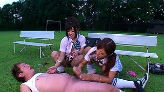 Amazing Japanese chicks Haruki Sato, Hibiki Otsuki in Crazy JAV censored Fetish, Big Tits clip