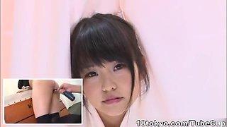 Horny girl Kurumi Tachibana young Japanese teen action
