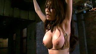 Fabulous Japanese model Akari Minamino in Incredible BDSM, Big Tits JAV scene