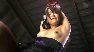 Saki Hatsuki, Sho Nishino in Guardian Mistress part 3
