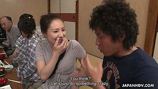 Extreme Japanese orgy with really voracious for orgasm Asakura Kotomi