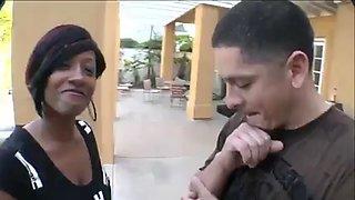 Big ass ebony gets fuck good