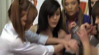 5 schoolgirls fucking the teacher