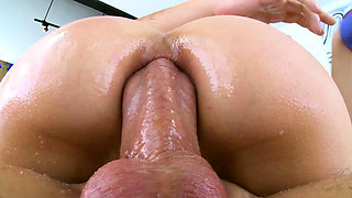 TRUE ANAL Lana Rhoades anal gaping glory