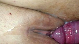 Young BBW MILF fucked and creampied