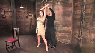 Busty MILF does Hard Time in a Dungeon