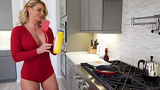 Imposing intruder gets the best of lovely MILF Phoenix Marie