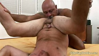 Horny Older Gay Daddies Eduardo And Murray Banging