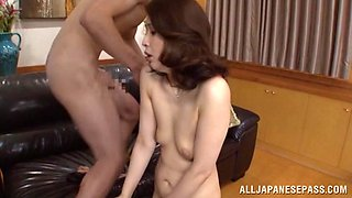 Yuri Matsushima hot mture Asian doll gets fucked and facialed